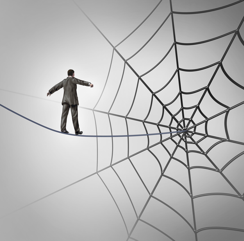 Businessman_walking_in_web
