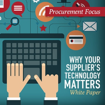Why Your Supplier Technology Matters