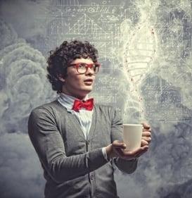 Man scientist