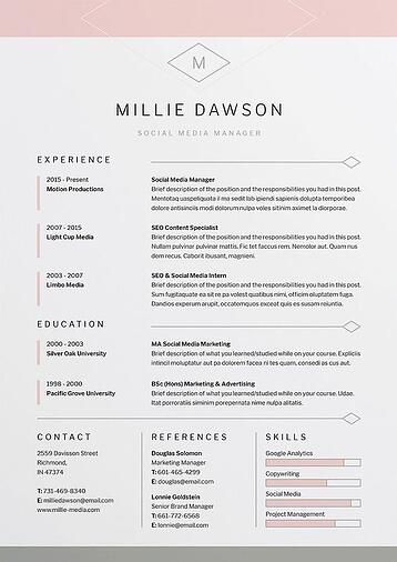 Where To Place Your Logo Design In Resume