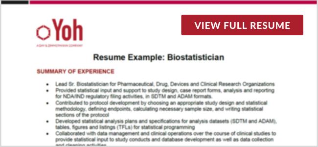 BiostatisticianPreview Image