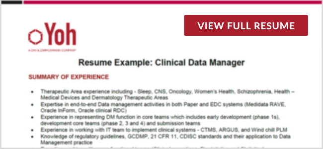 Clinical Data Manager Preview Image