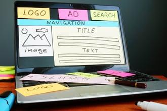 web design image blog