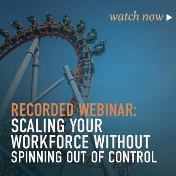 RPO Webinar Scaling Your Workforce