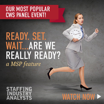 Managed Staffing Programs CWS Webinar