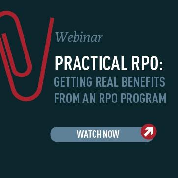 RPOA Webinar Practical RPO: Getting Real Benefits from an RPO Program